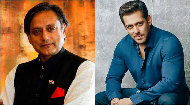 shashi tharoor was offered a role in a salman khan film