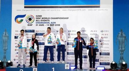 ISSF World Championships: Bronze for junior shooters, seniors misfire inChangwon
