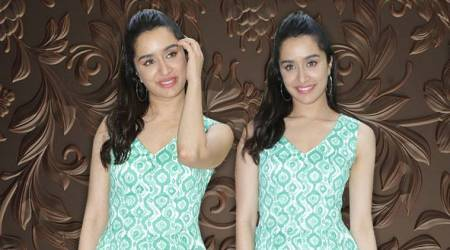 Shraddha Kapoor's sea green mini fails to spark inspiration but her hairdo saves the look