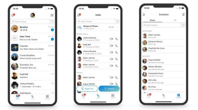 Skype, Skype update for mobile, Skype version 8.29, video calling through Skype, Skype removes Hightlights and Capture, Skype desktop update, new Skype update, Skype Hightlights and Capture feature
