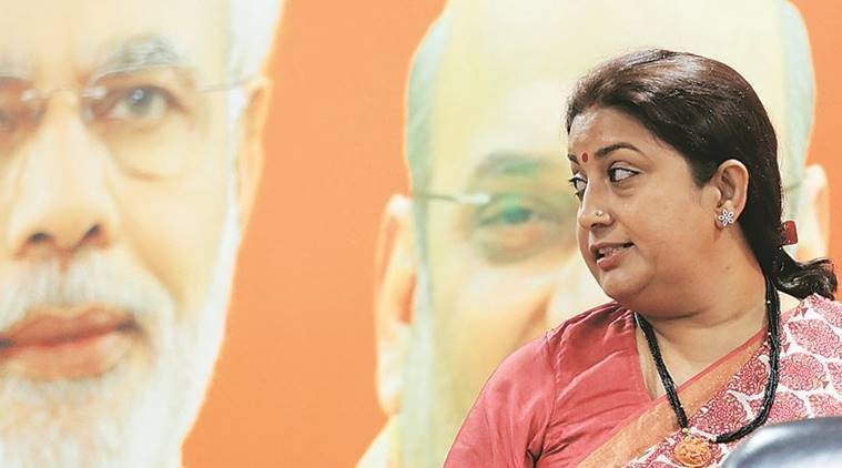 Waiving off loans is political posturing, says Smriti Irani
