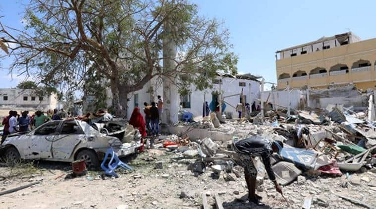 Somalia's capital Mogadishu hit by 'huge explosion'