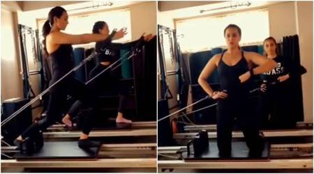 Sonakshi Sinha, Sonakshi Sinha fitness, Sonakshi Sinha latest photos, Namrata Purohit, Namrata Purohit latest fitness videos, Namrata Purohit arms workout video, celeb fitness, bollywood fitness, indian express, indian express news