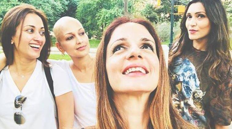 sonali bendre with sussanne khan