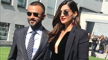 Sonam Kapoor, Anand Ahuja sizzle in black at Milan Fashion Week's Armani show