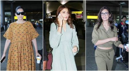 While Anushka Sharma and Esha Gupta nailed airport fashion, Sonam Kapoor failed to hit the mark