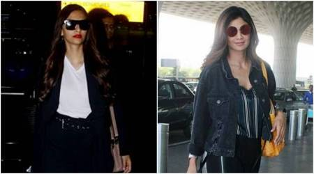 Airport style: Sonam Kapoor and Shilpa Shetty nail bright outfits with this style trick