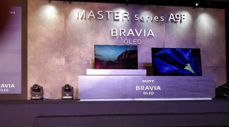Sony Bravia Master Series A9F flagship OLED Smart TVs now in India