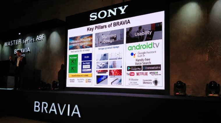 Sony master series, Sony bravia A9f, Sony master series bravia a9f, Sony smart TV, Sony bravia a9f price in India, Sony master series india availability, Sony master series a9f india launch