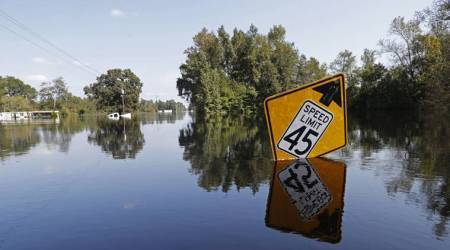 Rain-gorged river still poses flood threat in Hurricane Florence's aftermath