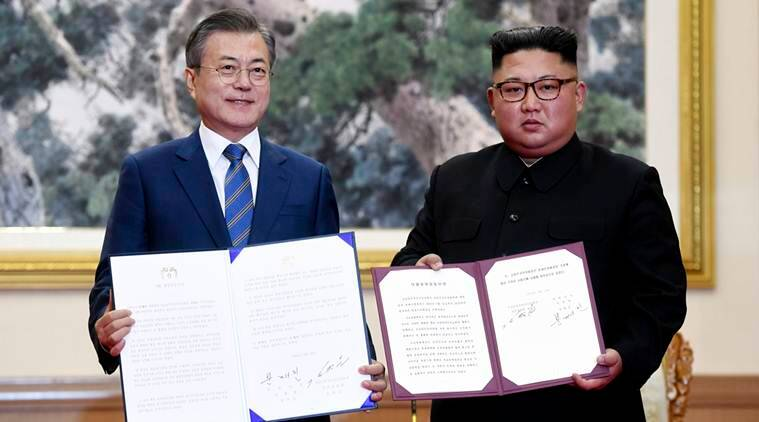 South Korea's president says North Korea agrees to dismantle missile sites