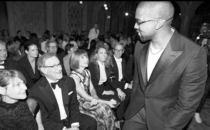 steven spielberg and kanye west