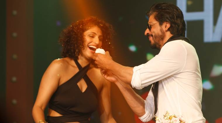 SRK, Kubra Sait