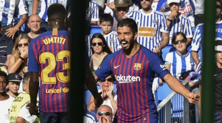 La Liga Roundup: Ousmane Dembele gives Barcelona victory; Real Madrid held by Athletic Bilbao
