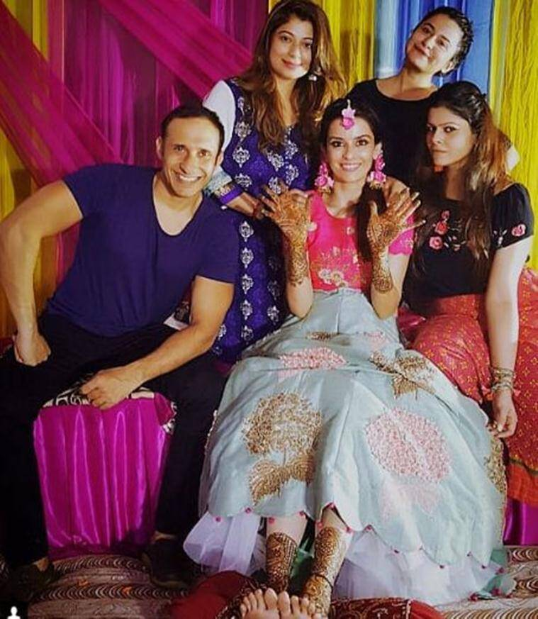 ekta kaul photos from her wedding ceremony