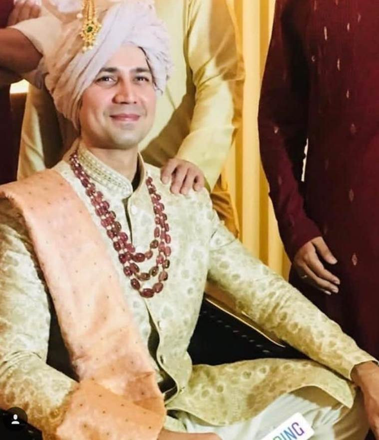 Sumeet Vyas, Ekta Kaul wedding photos