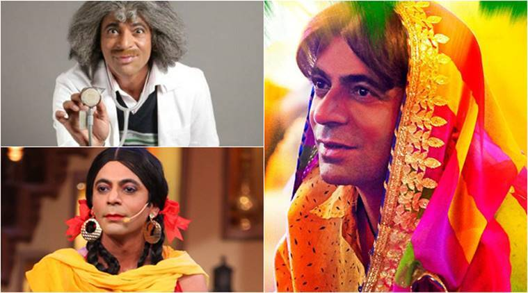 sunil grover on television and bollywood film pataakha