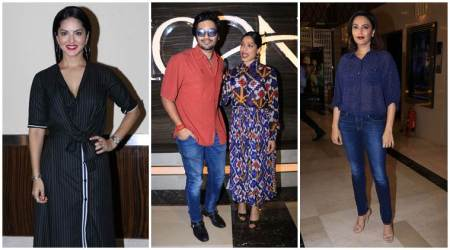 Love Sonia screening: Sunny Leone, Swara Bhaskar and others in attendance