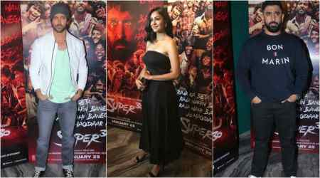 Super 30 wrap-up party: Hrithik Roshan, Mrunal Thakur and Amit Sadh make it a starry affair