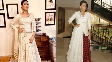 Swara Bhaskar wows in an ivory lehenga, but we are not so sure about her take on androgynous style