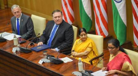 2+2 dialogue: Ensure that Iran sanctions don't hurt us, India tells US