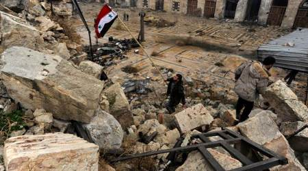 Syrian army says Israeli strikes hit northern Aleppo city, damages materials only