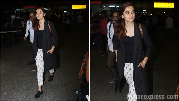 Best airport looks, Best airport looks bollywood, Aishwarya Rai Bachchan, Janhvi Kapoor, Yami Gautam, taapsee pannu, celeb fashion, bollywood fashion, indian express, indian express news