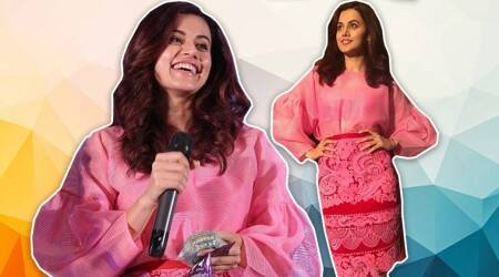 Taapsee Pannu shows us how to nail an all-pink attire with subtle grace