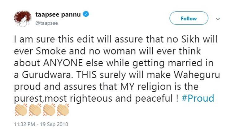 manmarziyaan taapsee controversy