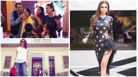 Have you seen these photos of Madhuri Dixit, Malaika Arora and Tanuja?