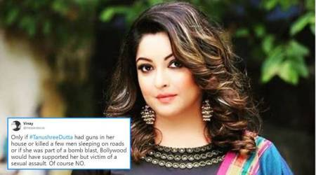 Netizens support Tanushree Dutta over harassment claims; many wonder if this is Bollywood's #MeToo moment