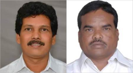Kidari Sarveswara Rao and Siveri Soma were reportedly travelling together to attend a party meeting.