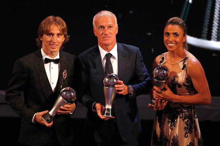 Croatia's Luka Modric wins FIFA's best player of the year award