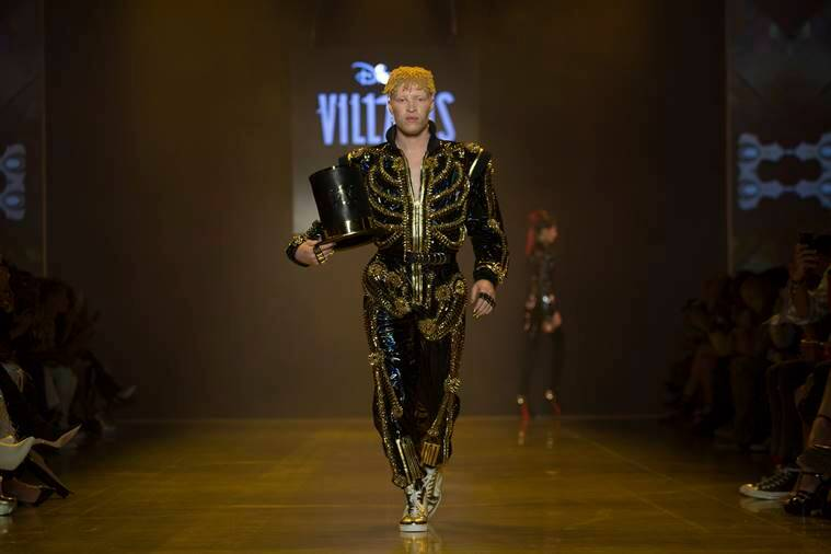 New York Fashion Week, New York Fashion Week The Blonds, Disney villains New York Fashion Week, disney villains inspired outfits, The Blonds disney villains, indian express, indian express news