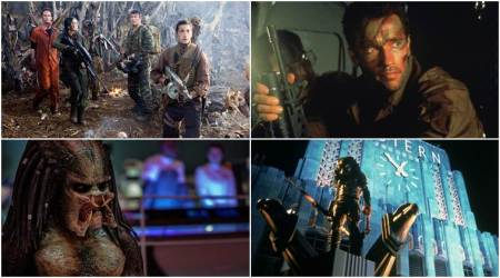 Before watching The Predator, let's have a look at all the previous films in the franchise.