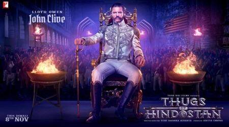 Thugs of Hindostan: British actor Lloyd Owen plays villain John Clive in the epic drama