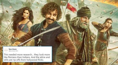 Thugs of Hindostan's first poster: Netizens call Aamir Khan 'Ghareeboon ka Jack Sparrow'
