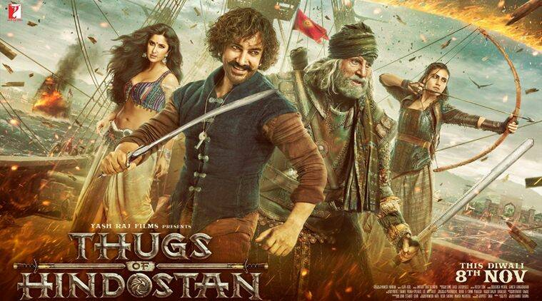 Thugs of Hindostan trailer release live updates