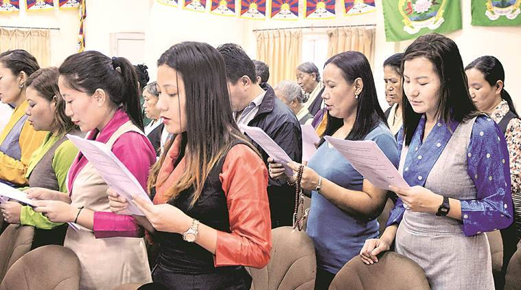 india news, Tibetan refugees in India, Tibetans in india, Tibetan refugees, citizenship for Tibetan refugees, indian express