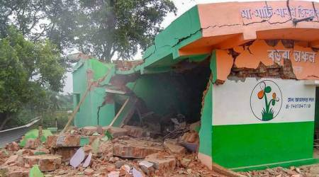Birbhum: TMC office blown up, no casualty
