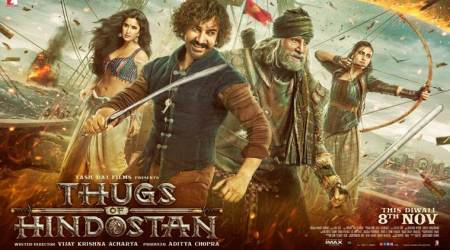Thugs of Hindostan first poster, trailer date out: Amitabh Bachchan, Aamir Khan and Fatima are ready for battle