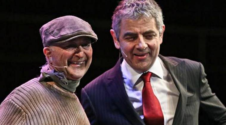 Rowan Atkinson on his Johnny English Strikes Again co-star Tony Robinson: There are few people I feel at ease with