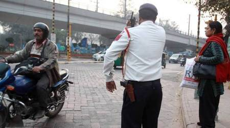 Bengaluru traffic cop who caught 680 drunken drivers gets President's Police Medal