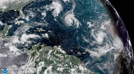 US storm, US hurricane, Tropical Storm Florence, southeast US, US weather, US climate, World News, Indian Express