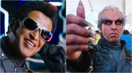 2.0 teaser photos: Rajinikanth and Akshay Kumar look fierce as Chitti and Crow Man