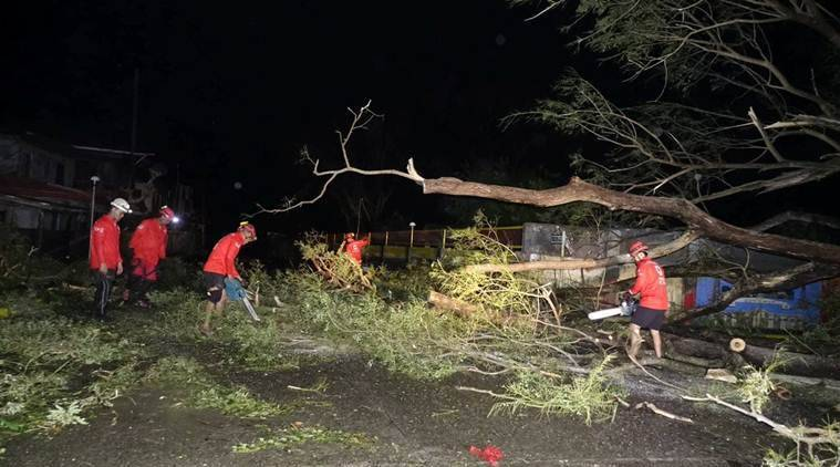 Typhoon Mangkhut, Philippines typhoon, death toll, Philippines death toll, Philippines weather, Philippines typhoon, Philippines climate, Philippines news, world News, Indian express