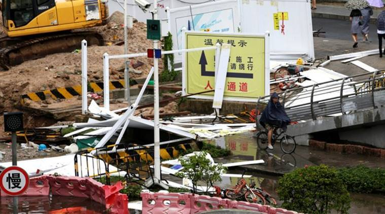 typhoon Mangkhut, Super typhoon mangkhut, tropical storm mangkhut, topical cyclone mangkhut, Philippines, Hongkong, Macau, China, Mangkhut death toll, South east Asia storm, World news, Indian express