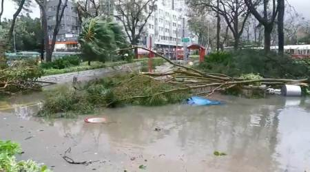 China provinces braced for heavy rainfall as typhoon heads west