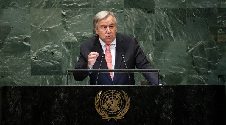 Economy of the United States, Michael Bloomberg, Business, New York City, Antnio Guterres, Guterres, United Nations, Bloomberg L.P., Climate change policy, Andrew Holness, Special Envoy, UN General Assembly, climate finance, Michael R. Bloomberg
