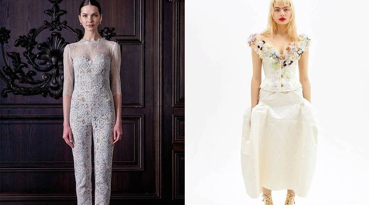 Bid goodbye to heavy, traditional bridal wears with these modern ...